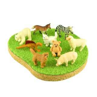 Shibaful PLAY with Animal figure / Shibaful 动物微型  (搭售)