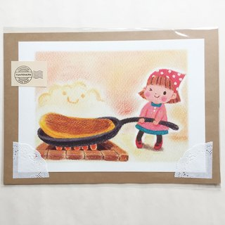 Big hot cake poster no.018