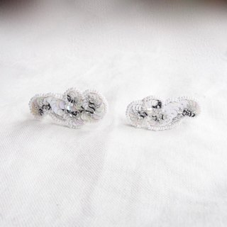 Cloud shaped earrings