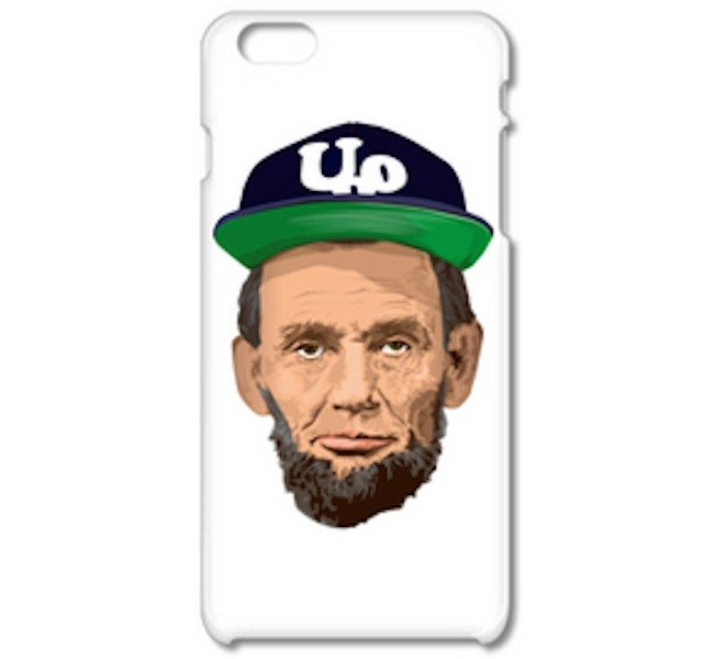 Abraham Lincoln Outdoor c (iPhone6 ​​case) (iPhone5 case)