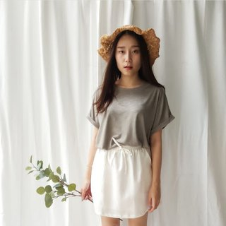 Basic T-shirt (short-sleeve) - Olive