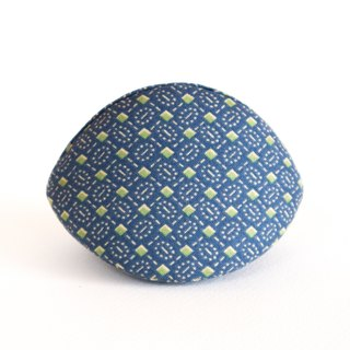Japanese style accessories case. / Blue & Green / Zen collection.Japanese style accessories case. Elegant collection No.3 .Japanese cotton fabric./Birthday gift.
