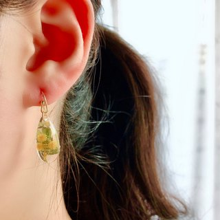 Mimosa drop earrings