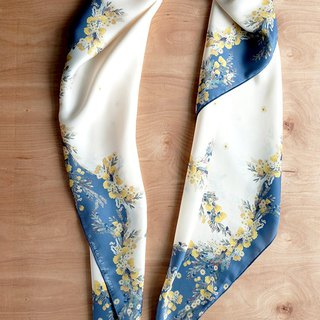 SCARF : Yellow Flowers