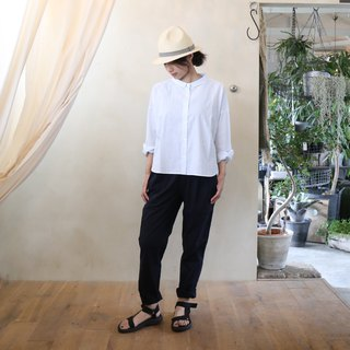 Code lane wide blouse · saxophone blue