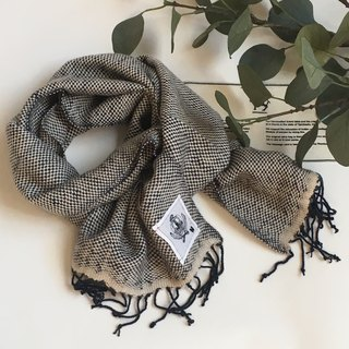 100% Cashmere Hand Woven Scarf
