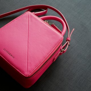 Butter Crossbody Bag in Hot Pink