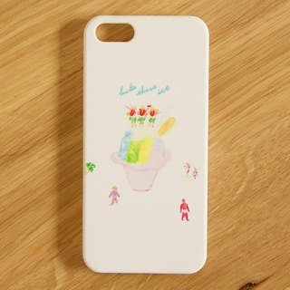 【IPhone / Android compatible】 hula shave ice Smartphone case renewal ver.