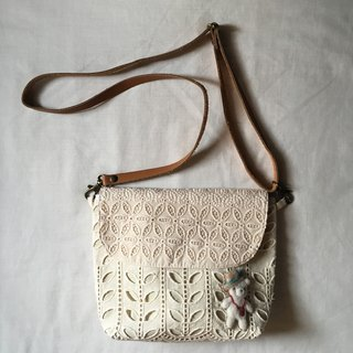 lace bag with summer bear
