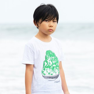 刨冰 Kakigori Shaved ice  Kids T-shirt Melon