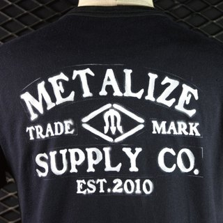 "METALIZE - ""Spray-Paint"" T-shirt (黑/灰/白)"