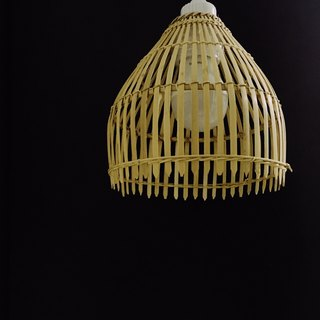 bamboo wicker lamp shade