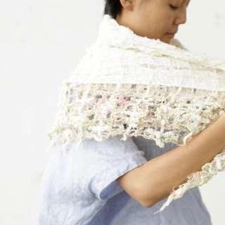 [Hydrangea] lace cotton stall natural summer