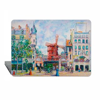 Macbook Pro 15 touch bar Case Impressionist MacBook Air 13 Case Pissarro Macbook 11 Macbook 12 Macbook Pro 13 Retina Moulin Rouge Case Hard 1713