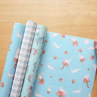 Reusable Wrapping papers (Collection 12) : Set of 3