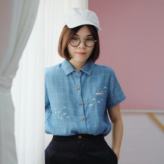 Romantic Lover Shirt : Blue