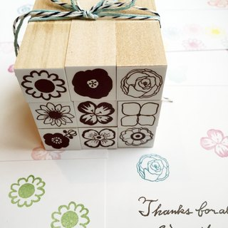Little flower stamp set