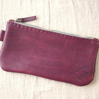 Pouch pen case (thick) purple