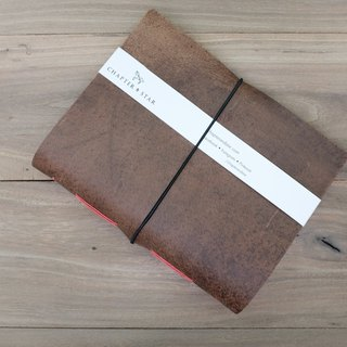 Leather Journal 5.7 X 7.4 inches - Minimalist, Handcrafted with Genuine Leather