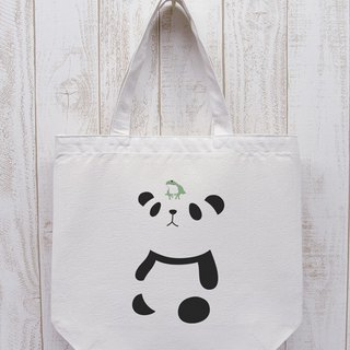 Knee Ten Zero Pan Odekake Tote Frog (Natural) / RIB 007