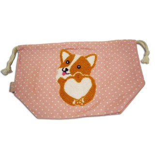 Corgi Drawstring Bag 哥基绳索袋