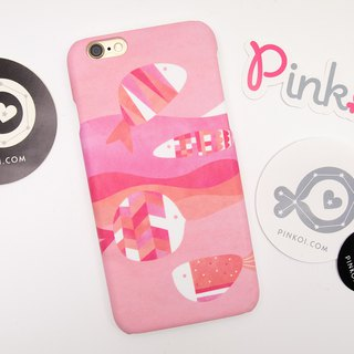 Pinkoi Fish iPhone case