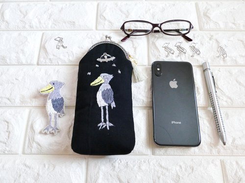 Embroidery pen case hammerhead