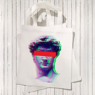 Delay David Canvas Tote Bag