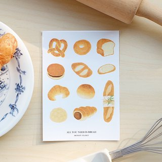 A6 sticker (BREAD)