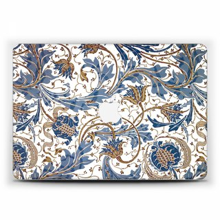Macbook Pro 15 touch bar Case MacBook Air 13 Case floral Macbook 11 sheet blue Macbook 12 Macbook Pro 13 Retina classic art Case Hard 1832