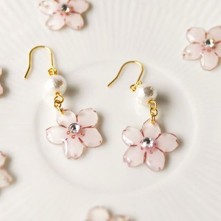 031 SAKURA DROP PIERCE (earrings OK)