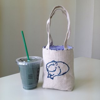 Cafe bag capybara Minitoto