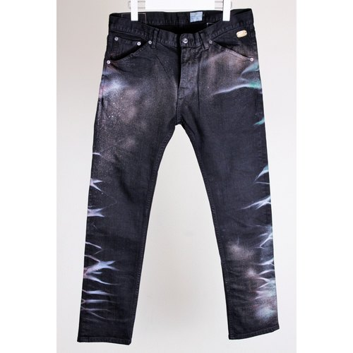 Paiting Denim Pants (34)