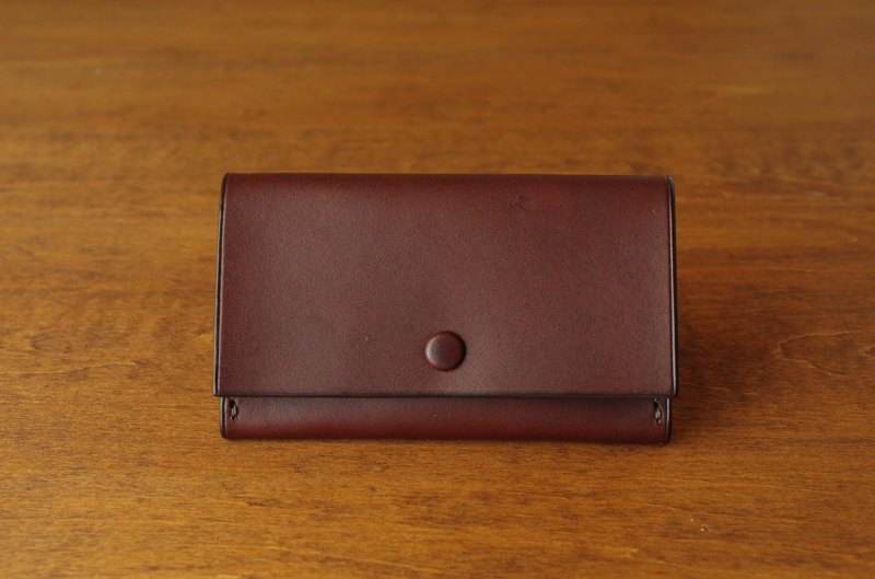 [MTO] Business Card Case / choco × olive