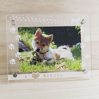 Paw paws for dogs to choose from Photo Frame (L size)