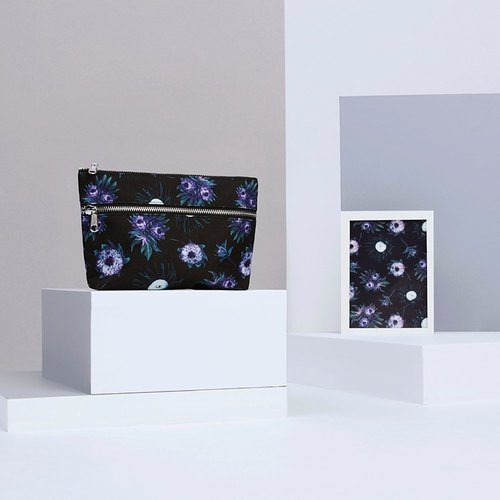 Purple Spring Cosmetic Bag | 化妆包