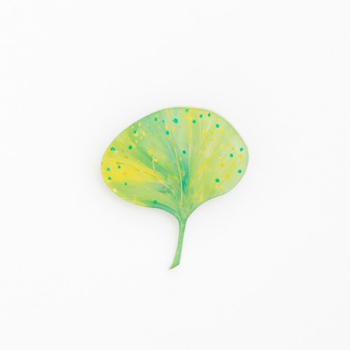 Picture of brooch [leaf]