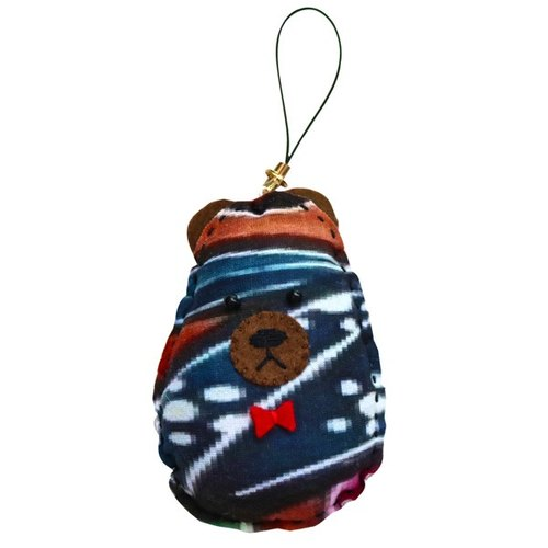 Jue Original Bear Key Holder / Neputa Pattern
