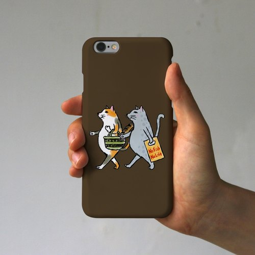 iPhone Case cats (brown)