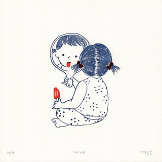 Ice Pop - Letterpress Print Limited Edition of 30