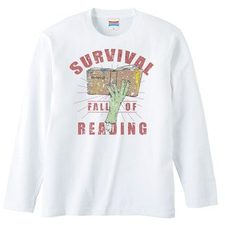 Long sleeve T shirt / Fall of reading