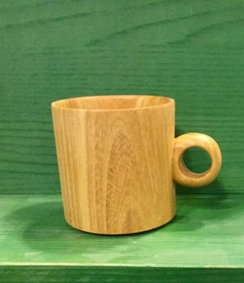 【Order Production】 Wood cup 2 from a forest bear cafe 2