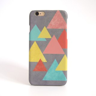 Retro Geometric Graphic iPhone case V.2