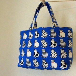 Cat's petit handbag blue