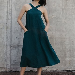 Linen Dress Motumo – 18S13