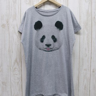 ronronPANDA One piece Tee Beh (Heather Gray) / RPT 023 - GR