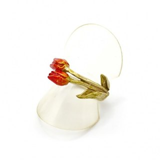 Tulip Ring (Red) Tulip (Red) / ring RN117-RD