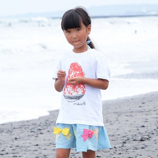 刨冰 Kakigori Shaved ice Kids T-shirt Strawberry