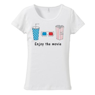[Women's T-shirt] enjoy the movie