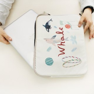 With Alice / 13inch pouch_Ivory
